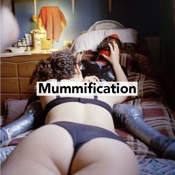 Mistress Blunt mummification sessions in NYC