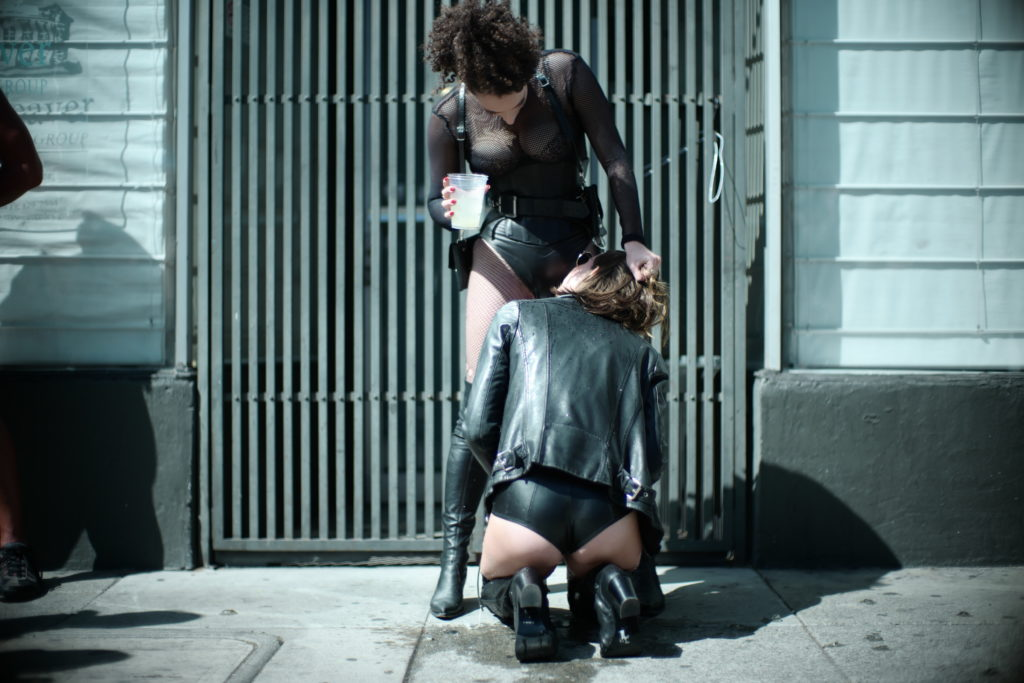 Mistress Blunt NYC Femdom Dominatrix  Public Play Queer