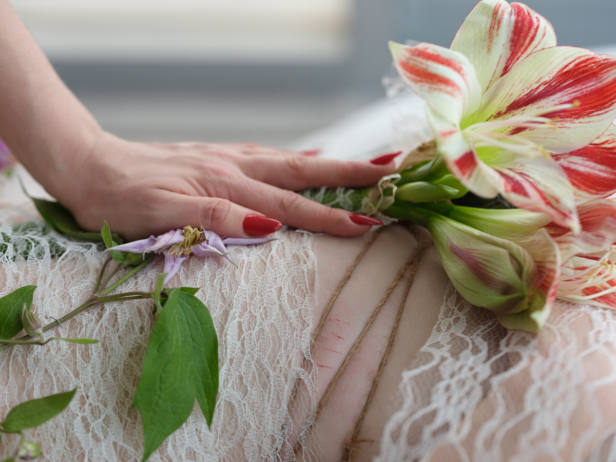 flower mummification