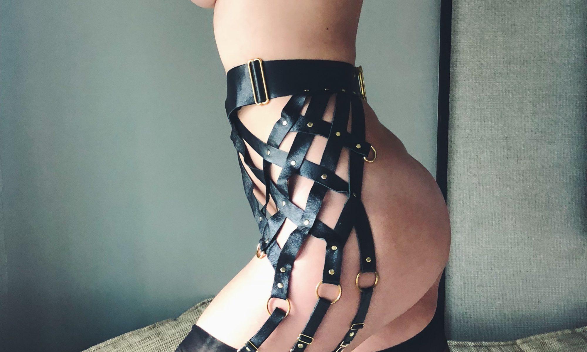 Mistress Blunt NYC Tights + Garter