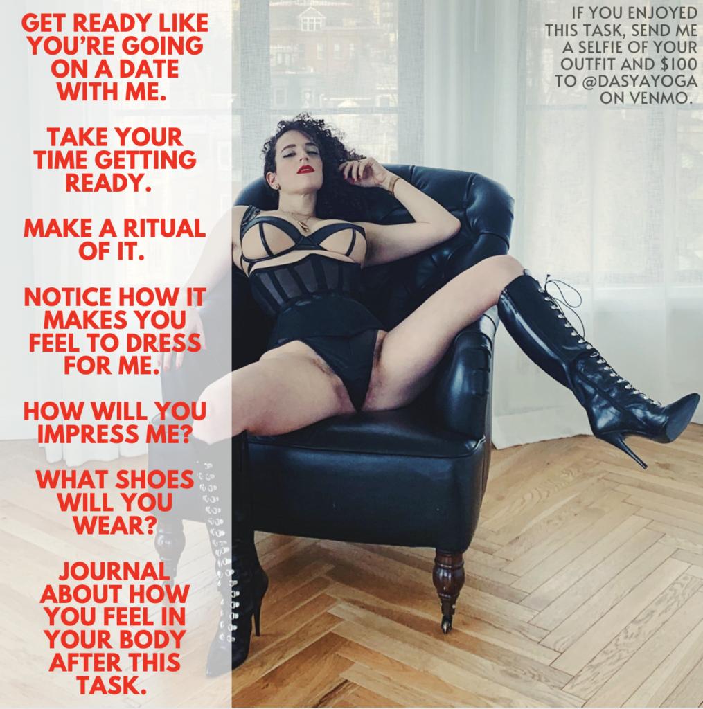 erotic femdom meditation